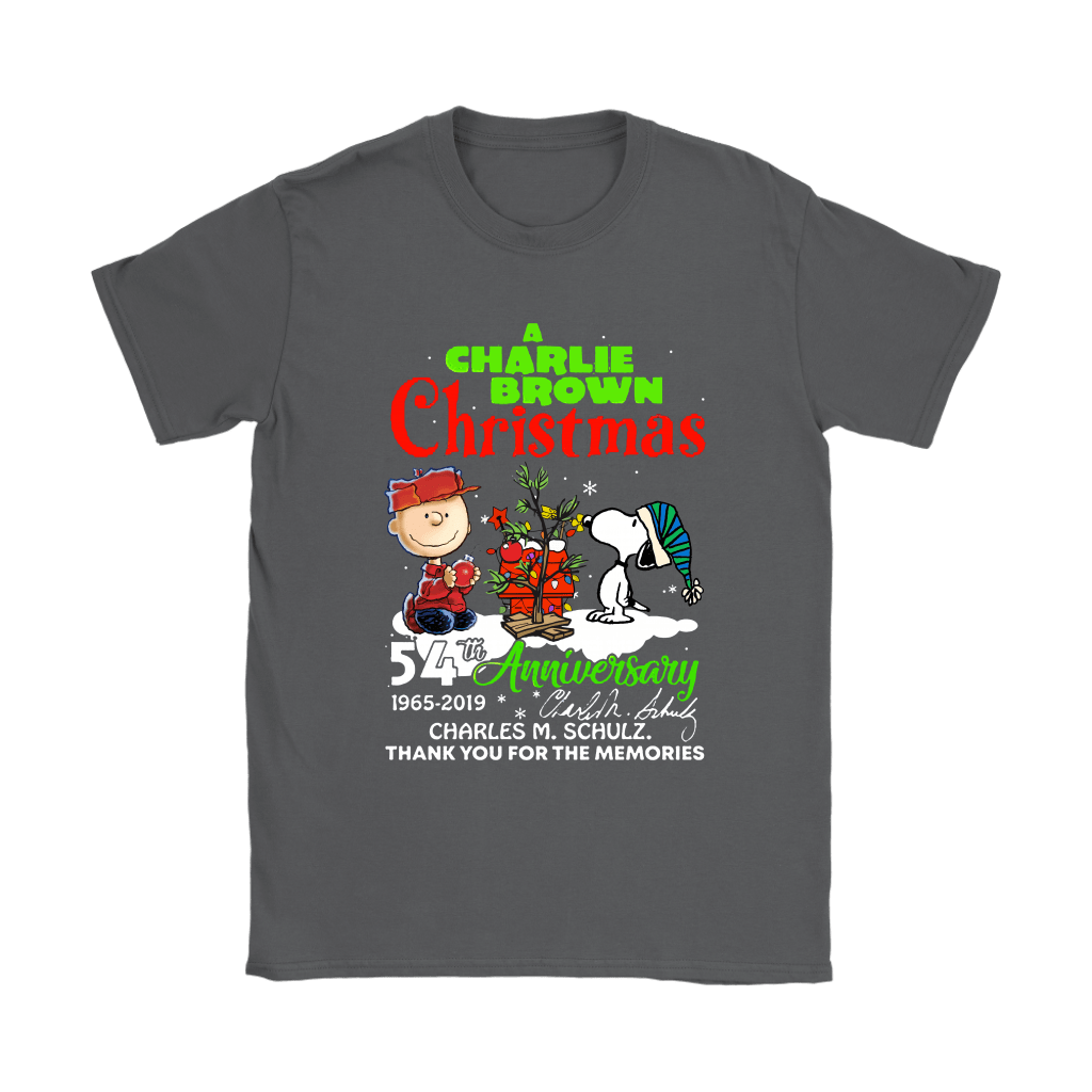 A Charlie Brown Christmas 54th Anniversary Snoopy Shirts 8