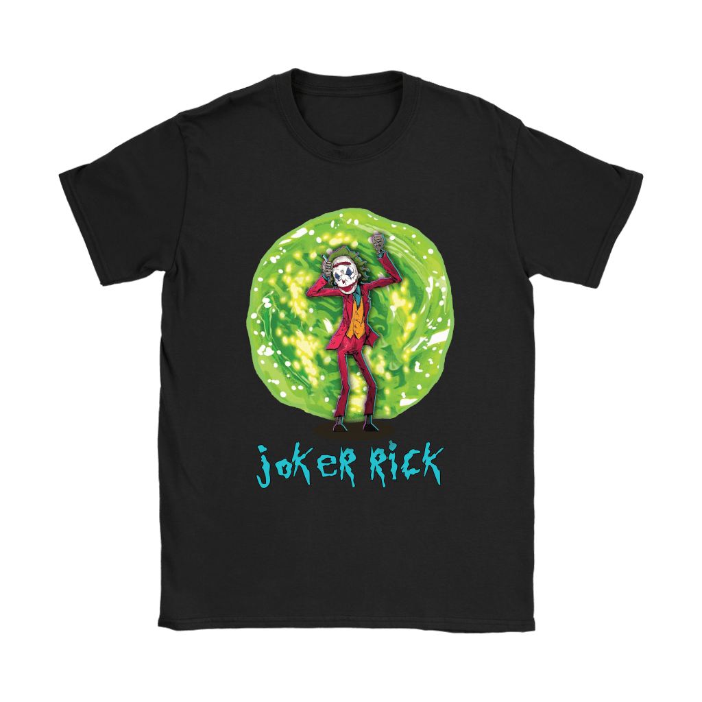 Joker Rick Joaquin Phoenix Joker Rick And Morty Shirts 6