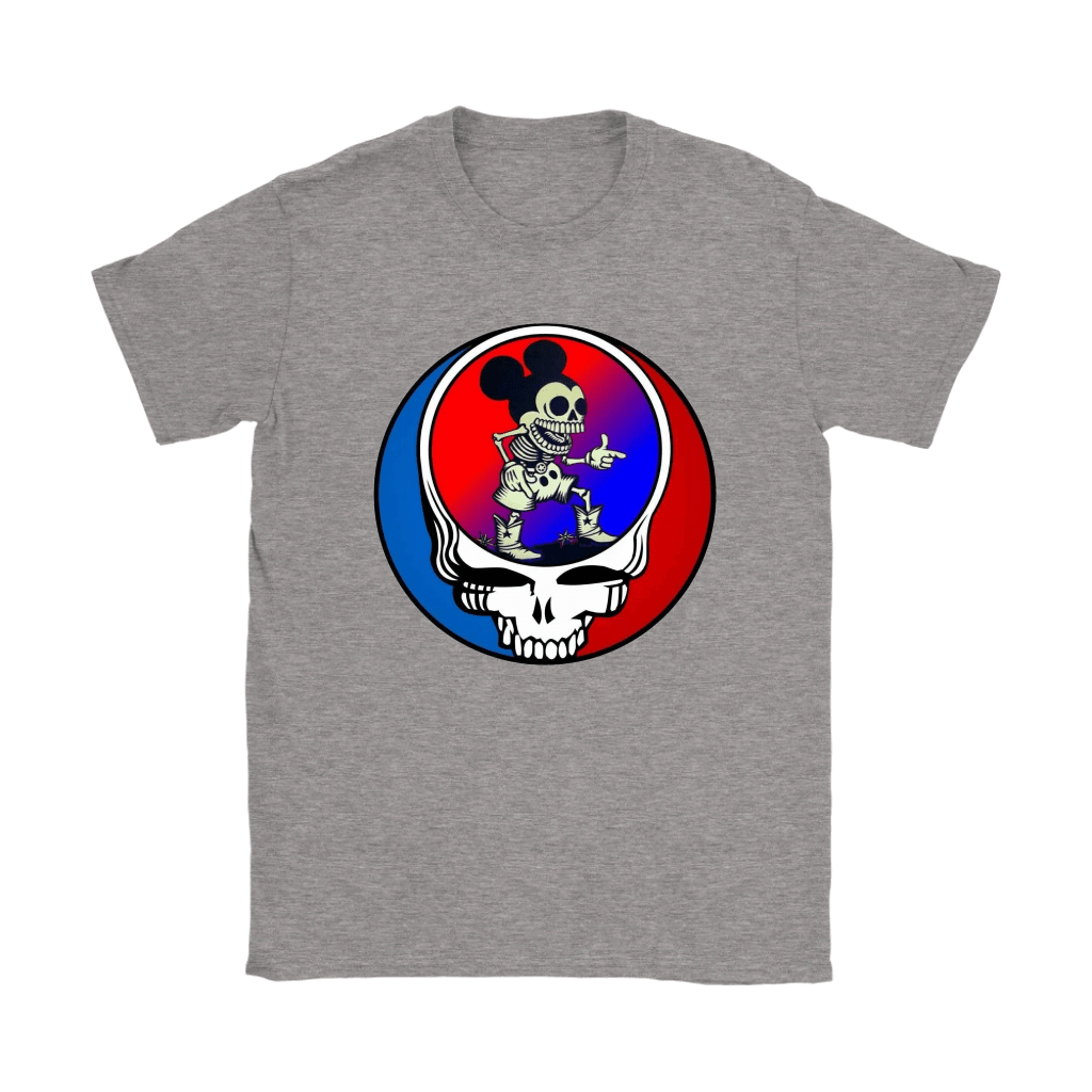 Skeleton Mickey Mouse Grateful Dead Halloween Shirts 13