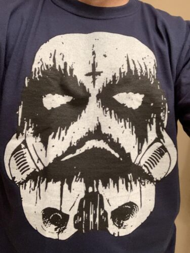 Black Metal Storm Trooper Star Wars Shirts photo review