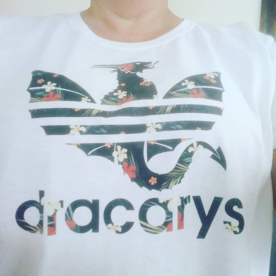 Dracarys Dragon Game Of Thrones Adidas Flower Mashup Shirts photo review