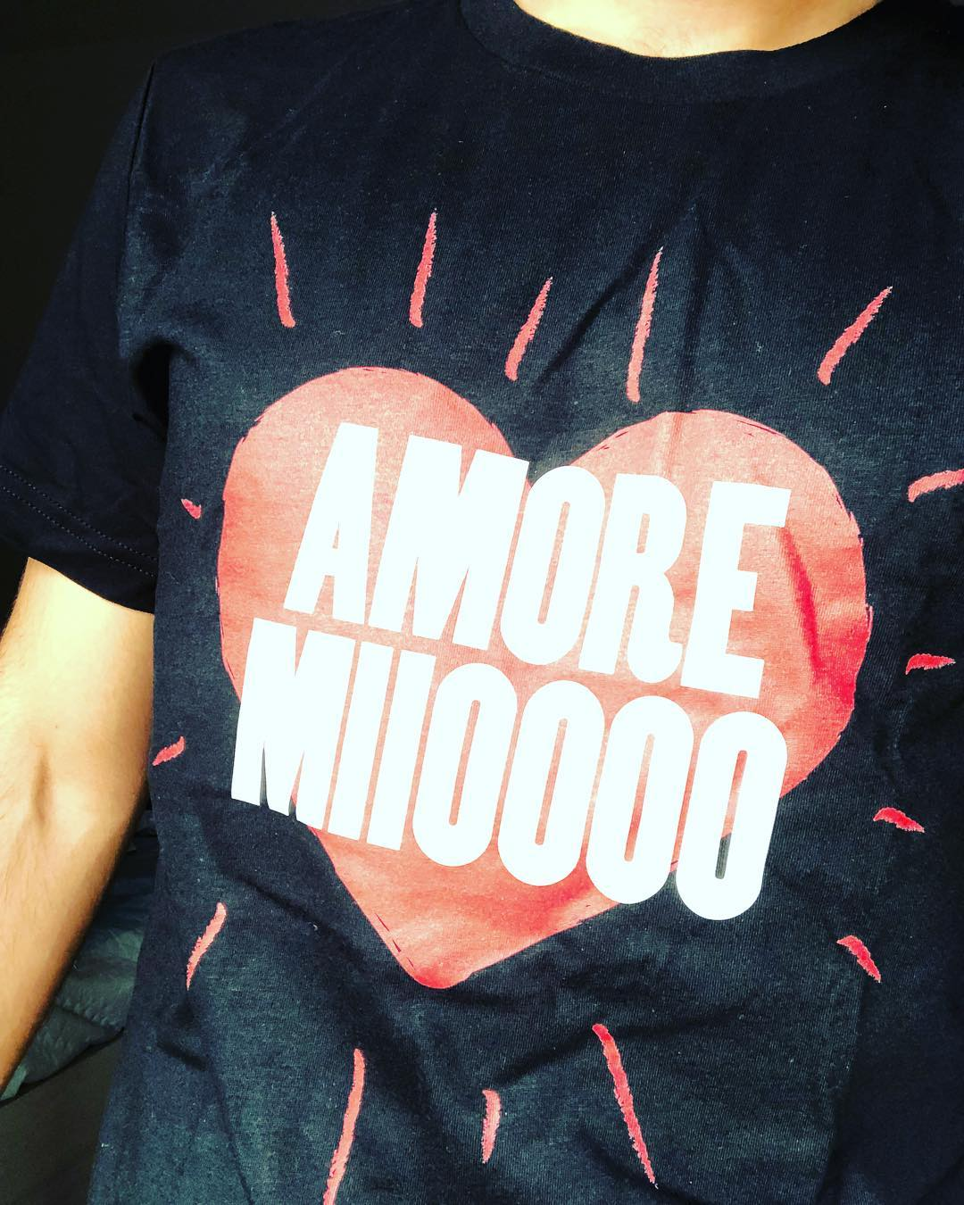 Amore Mio My Love Loving Heart Amore Miioooo Shirts photo review