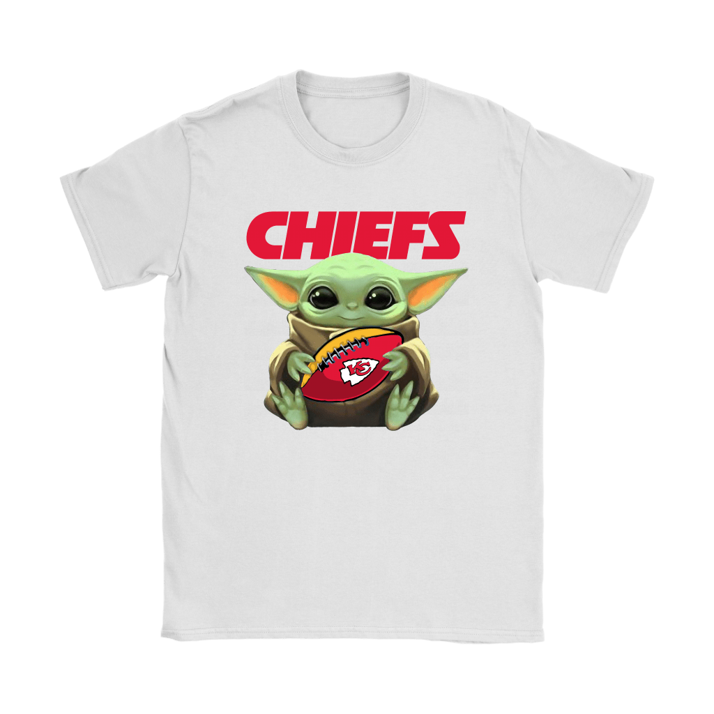 Baby Yoda Loves The Kansas City Chiefs Star Wars NFL Shirts 14