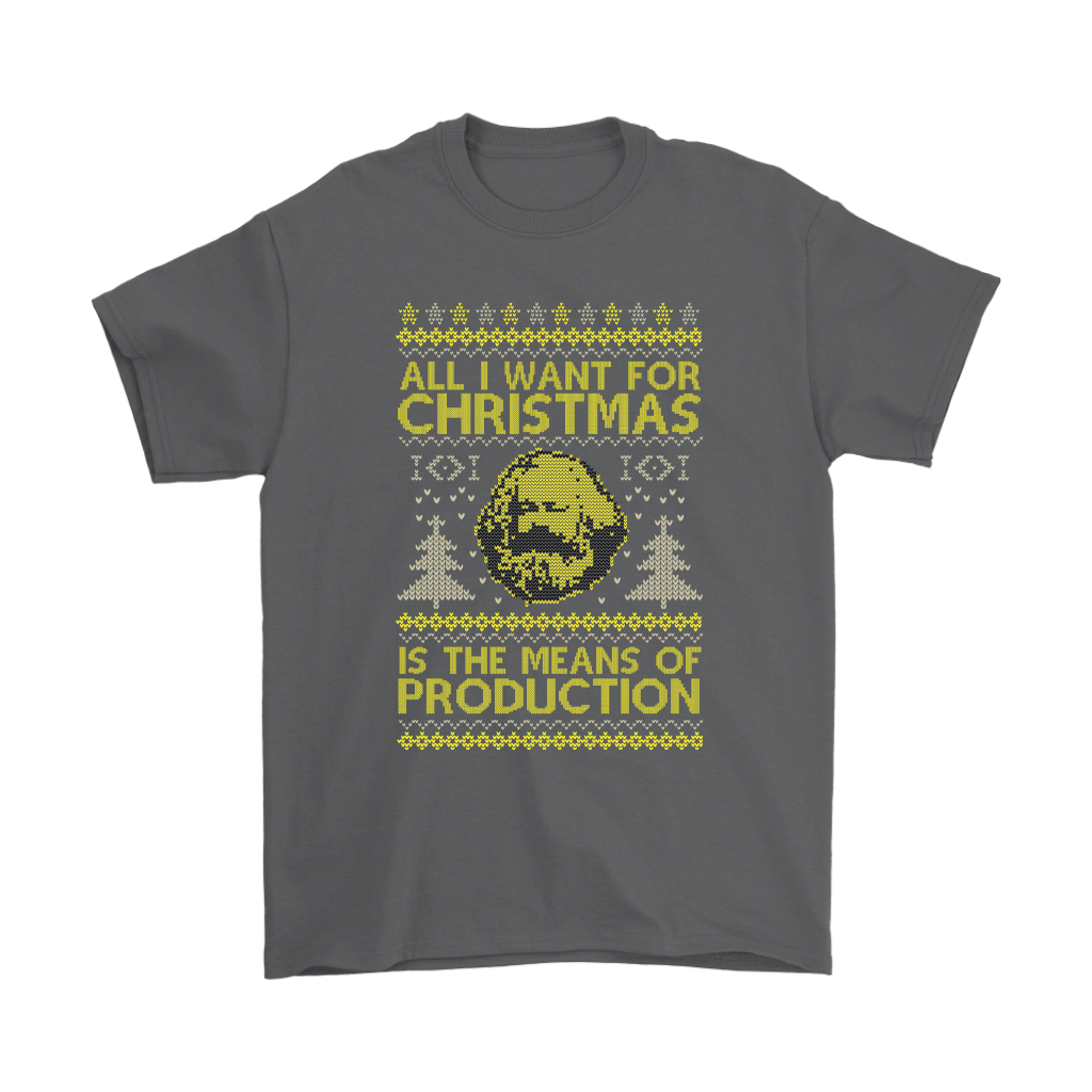 All I Want For Christmas Is The Means Of Production Marxism Shirts 2