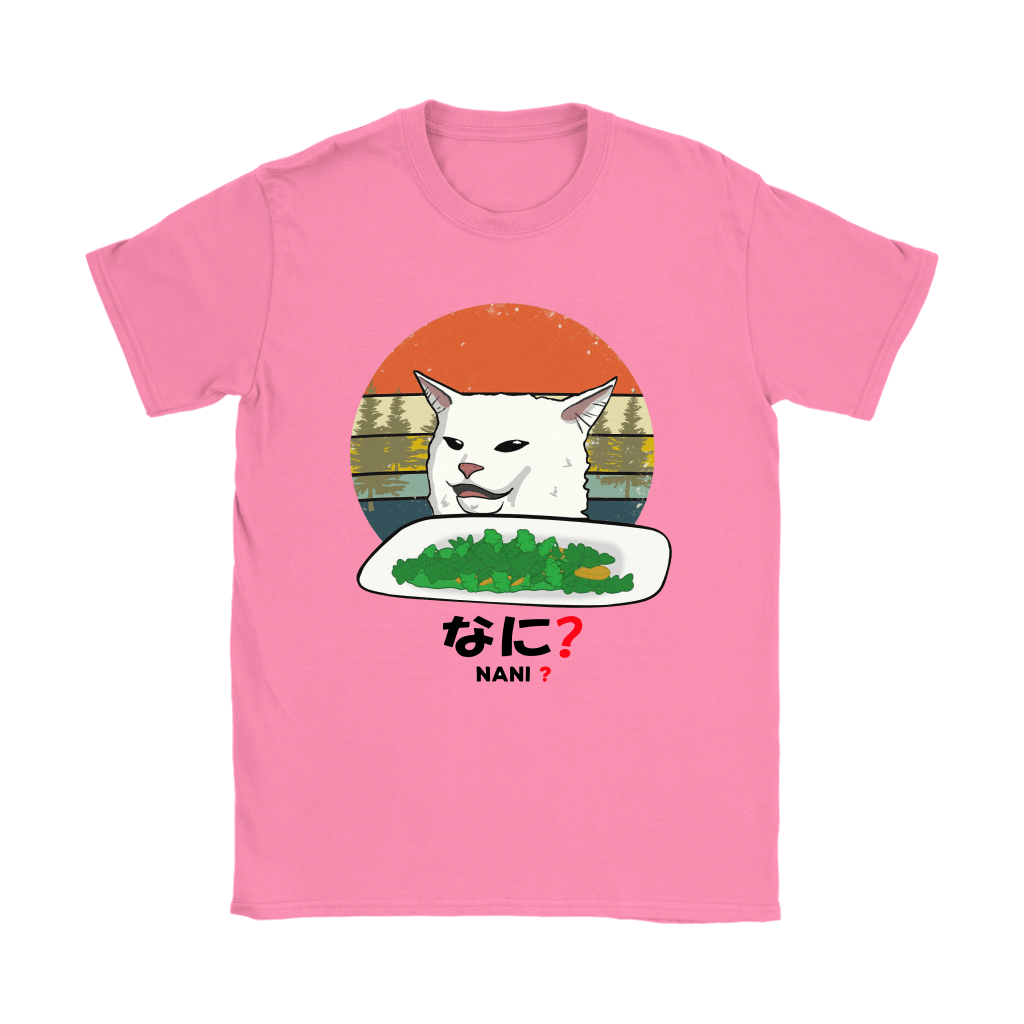 Smudge The Cat Eating Salad Meme Nani What Shirts 8
