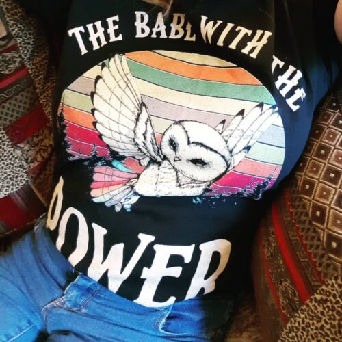 The Babe With The Power David Bowie Owl Vintage Shirts photo review