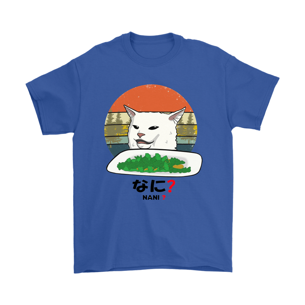 Smudge The Cat Eating Salad Meme Nani What Shirts 3