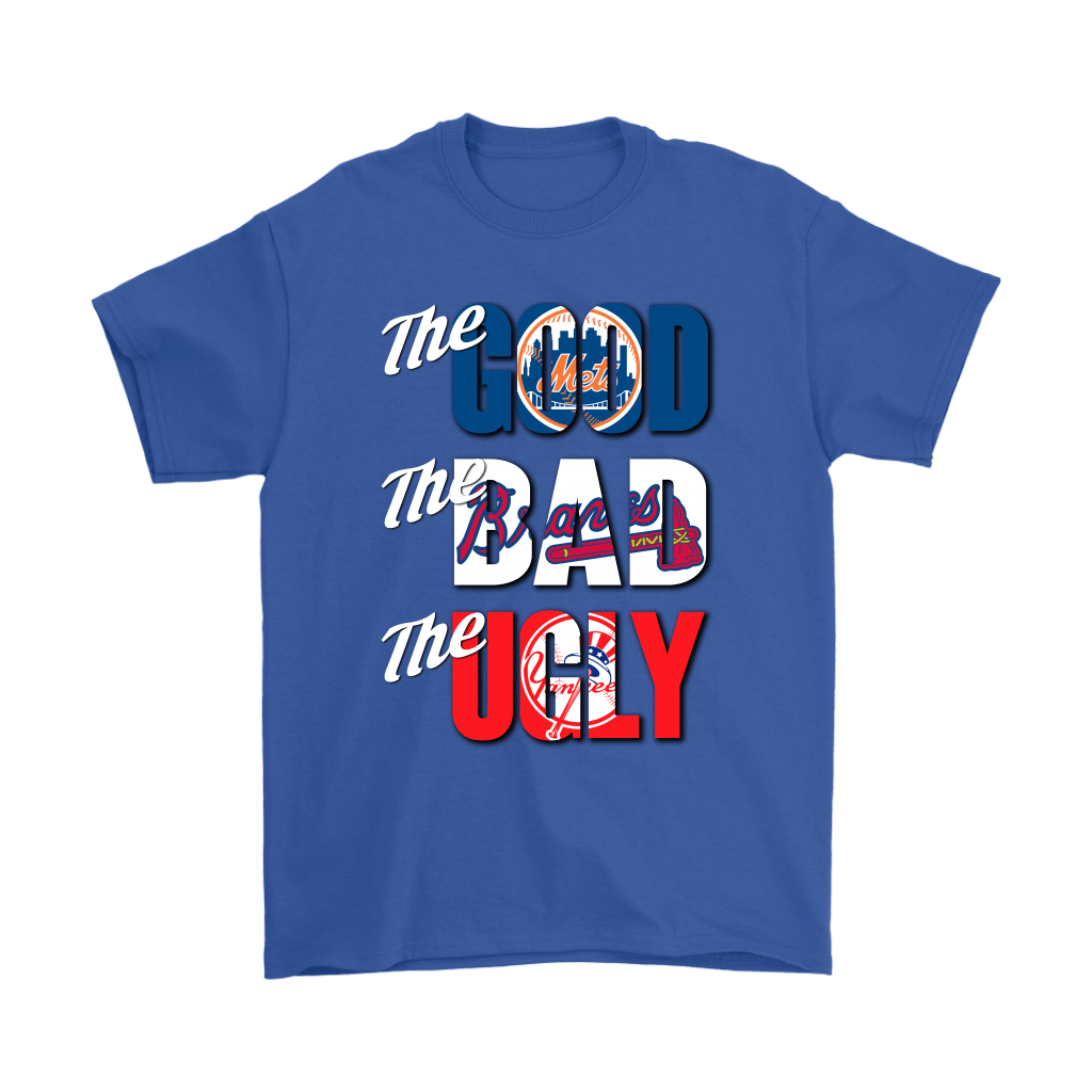 The Good The Bad The Ugly New York Mets Braves Yankees MLB Shirts 6