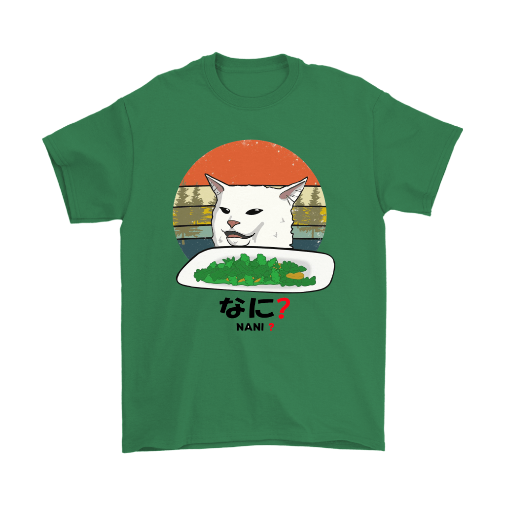 Smudge The Cat Eating Salad Meme Nani What Shirts 6