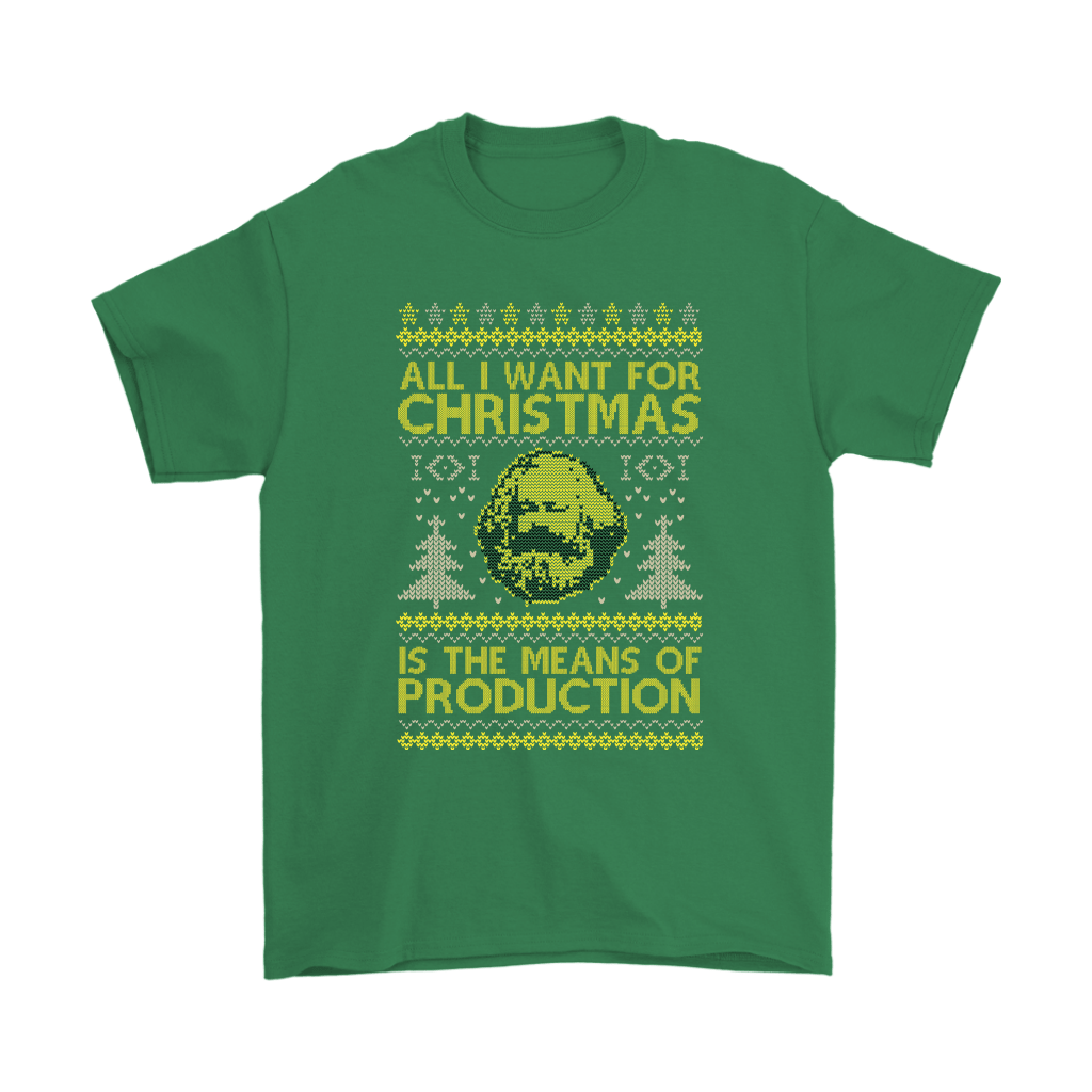 All I Want For Christmas Is The Means Of Production Marxism Shirts 7