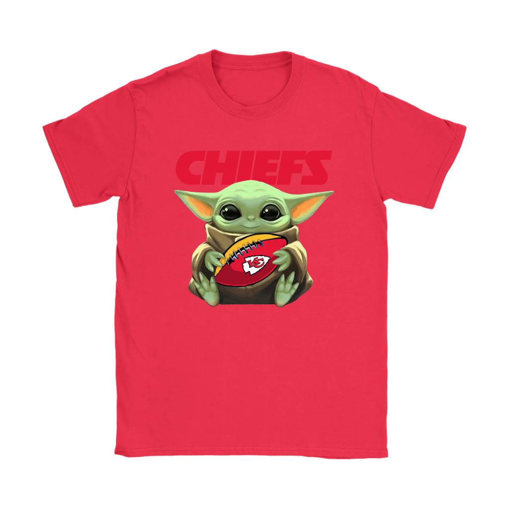Baby Yoda Loves The Kansas City Chiefs Star Wars NFL Shirts 11
