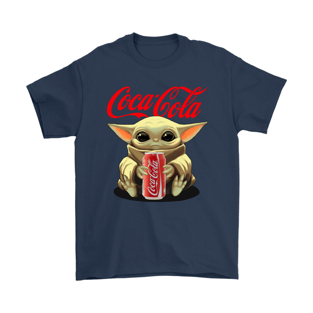 Baby Yoda Hugs Coca Cola Can Star Wars Shirts 3