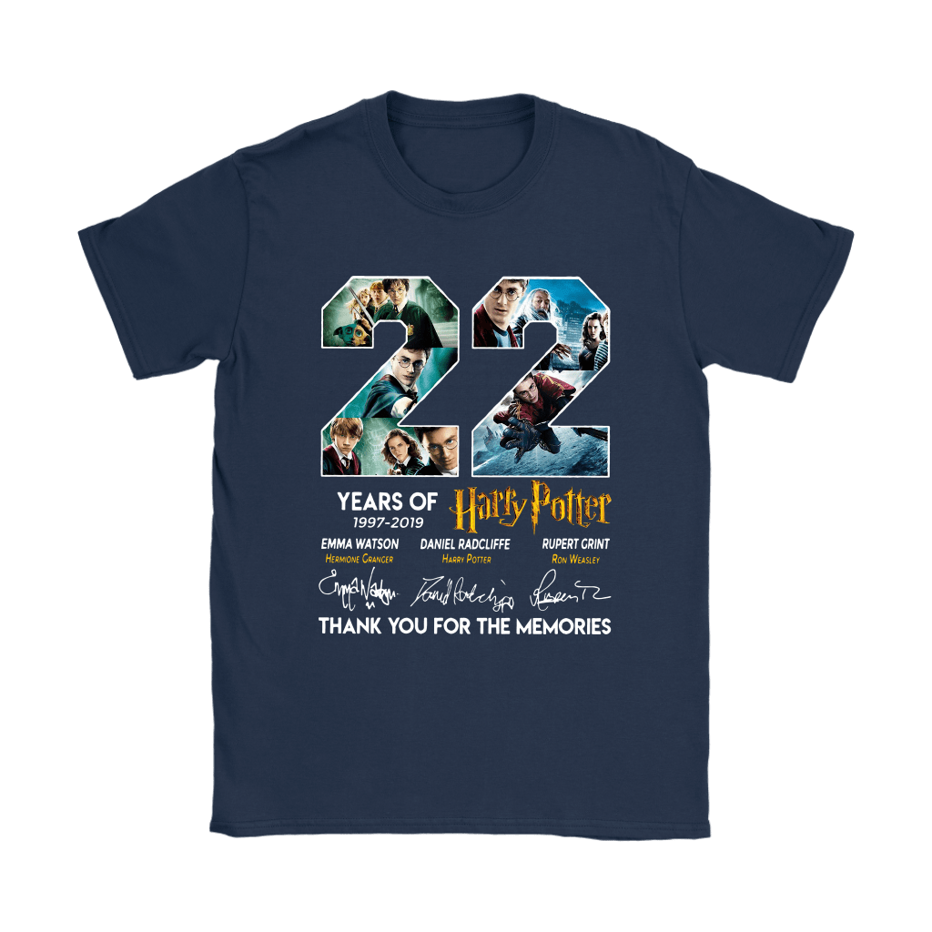 22 Years Of Harry Potter 1997 2019 Shirts 23