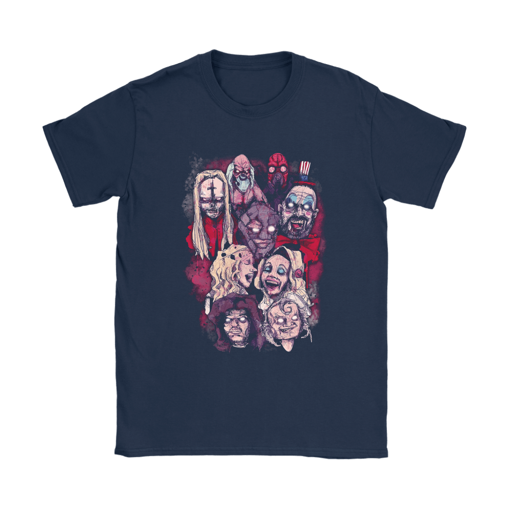 House Of 1000 Corpses Horror Movie Characters Shirts 5