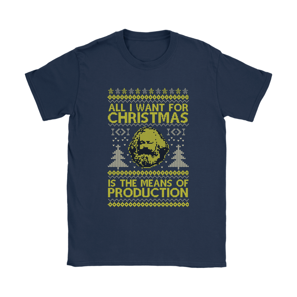 All I Want For Christmas Is The Means Of Production Marxism Shirts 10