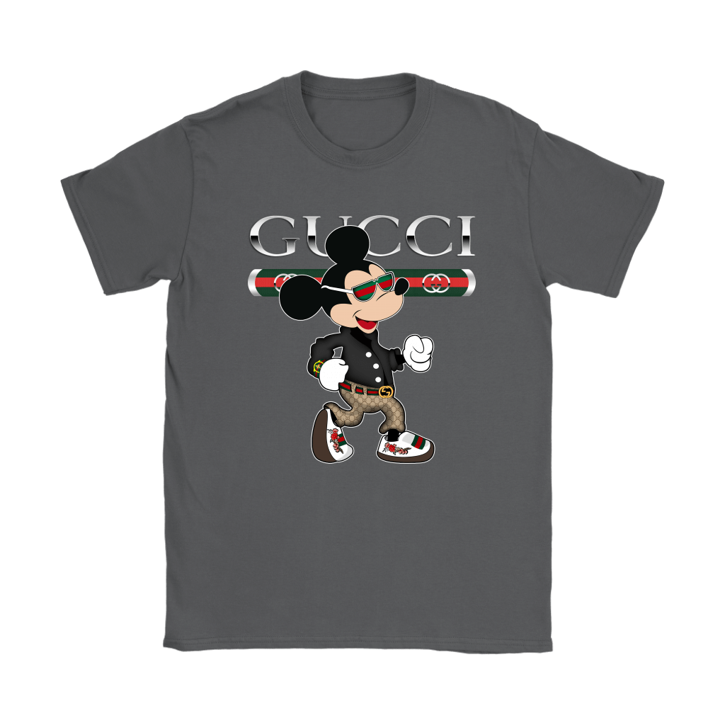 Gucci Disney Mickey Mouse Looking Good Shirts 10