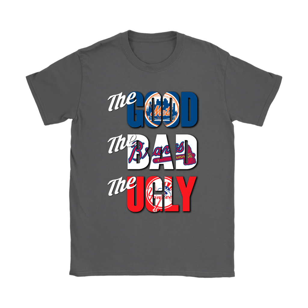 The Good The Bad The Ugly New York Mets Braves Yankees MLB Shirts 9