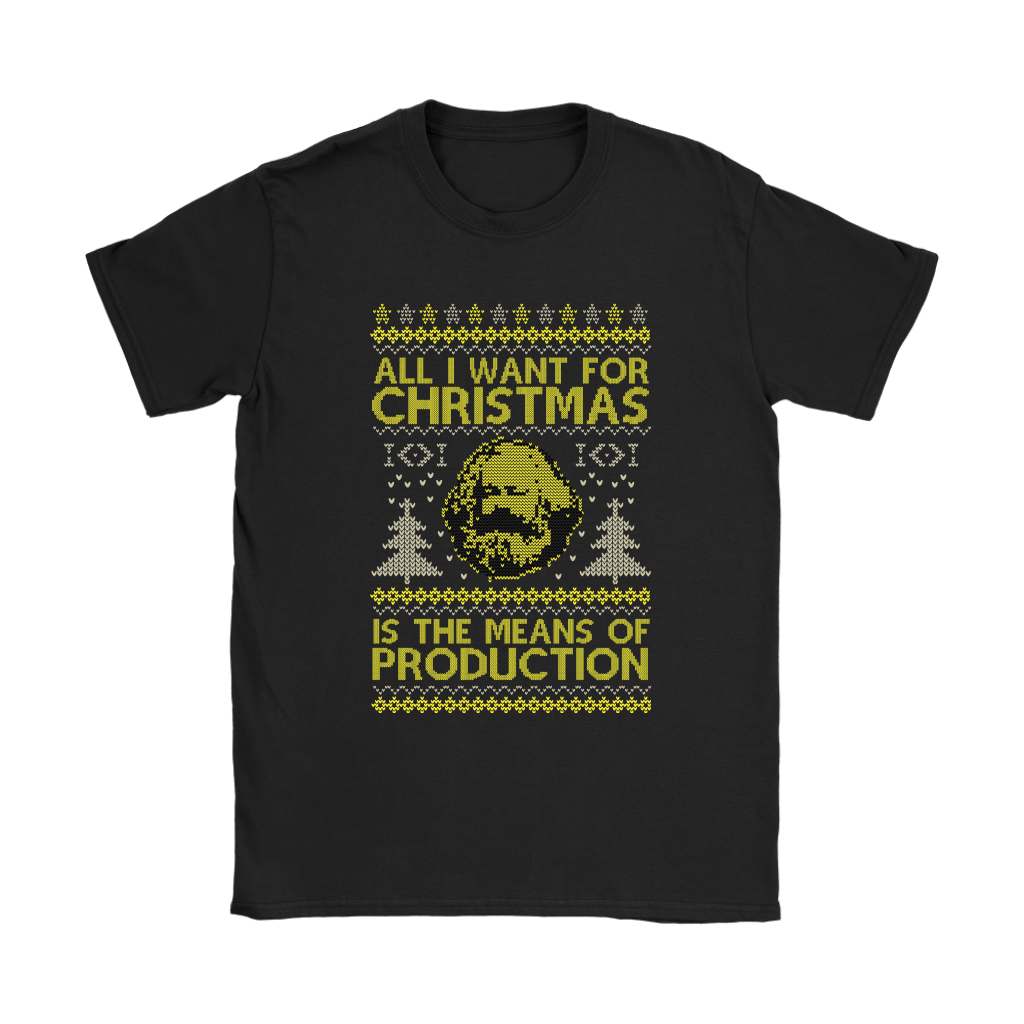All I Want For Christmas Is The Means Of Production Marxism Shirts 8