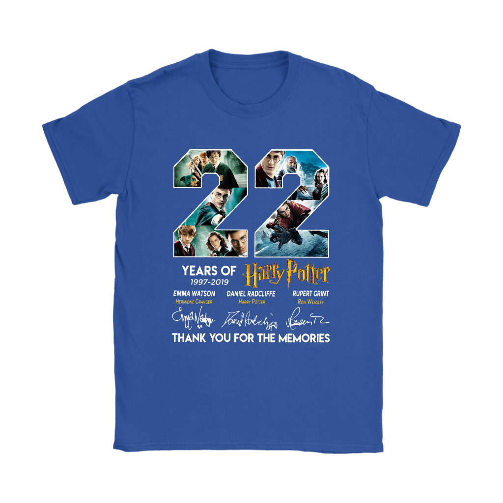 22 Years Of Harry Potter 1997 2019 Shirts 25