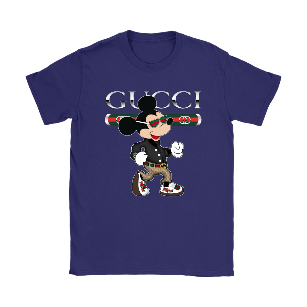Gucci Disney Mickey Mouse Looking Good Shirts 12