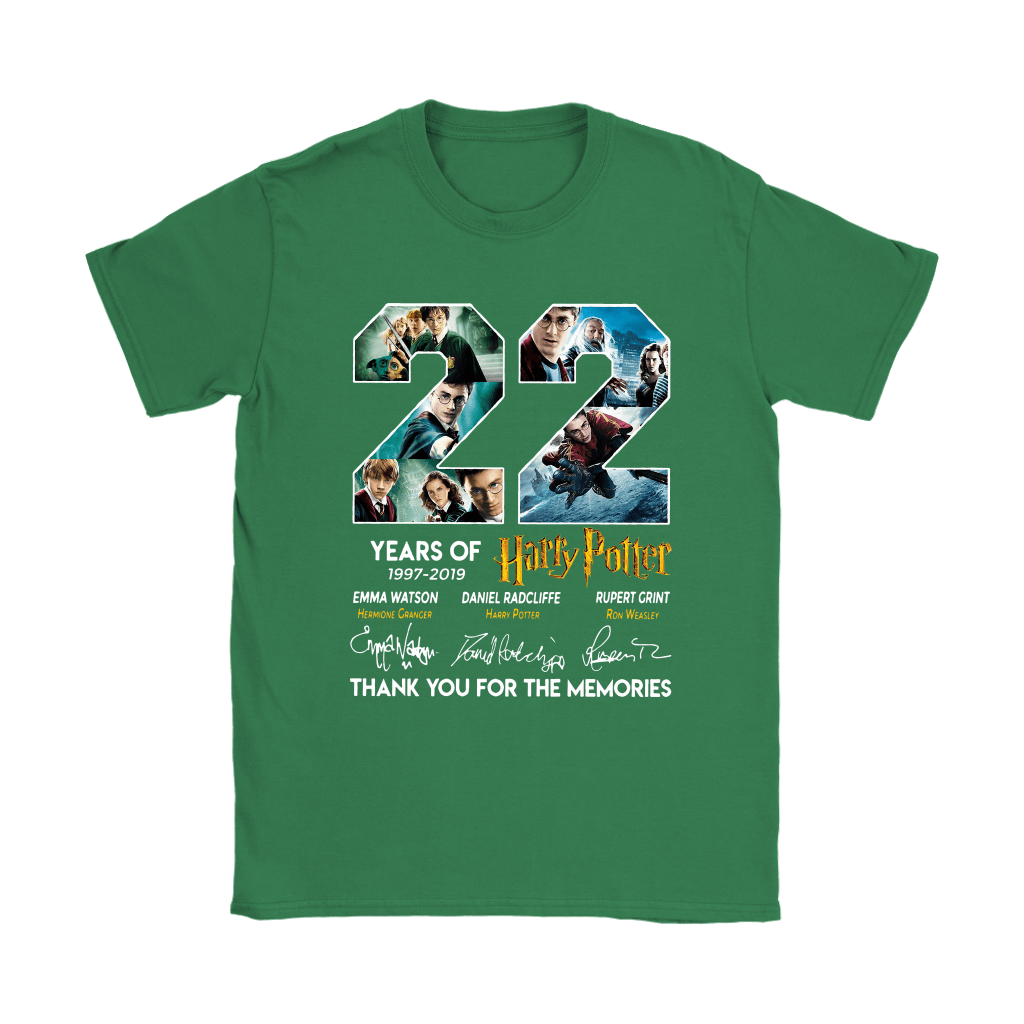 22 Years Of Harry Potter 1997 2019 Shirts 27