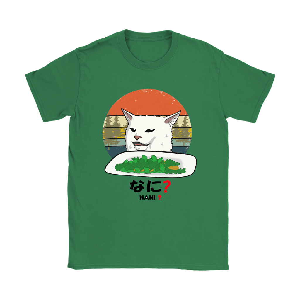 Smudge The Cat Eating Salad Meme Nani What Shirts 13