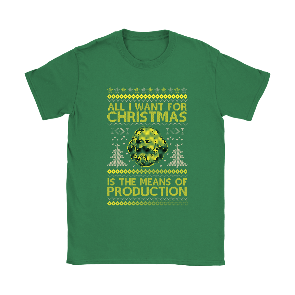 All I Want For Christmas Is The Means Of Production Marxism Shirts 14