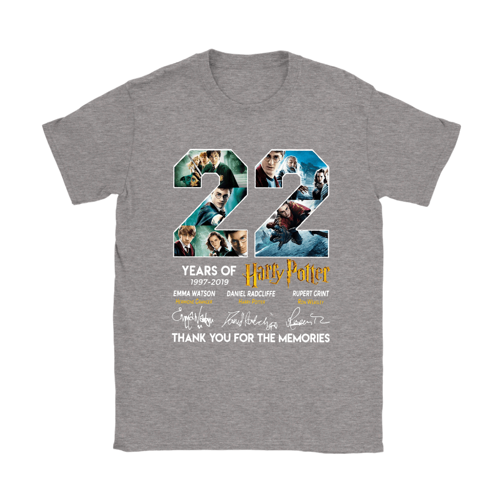 22 Years Of Harry Potter 1997 2019 Shirts 13