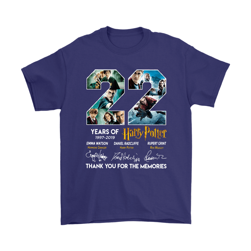 22 Years Of Harry Potter 1997 2019 Shirts 4