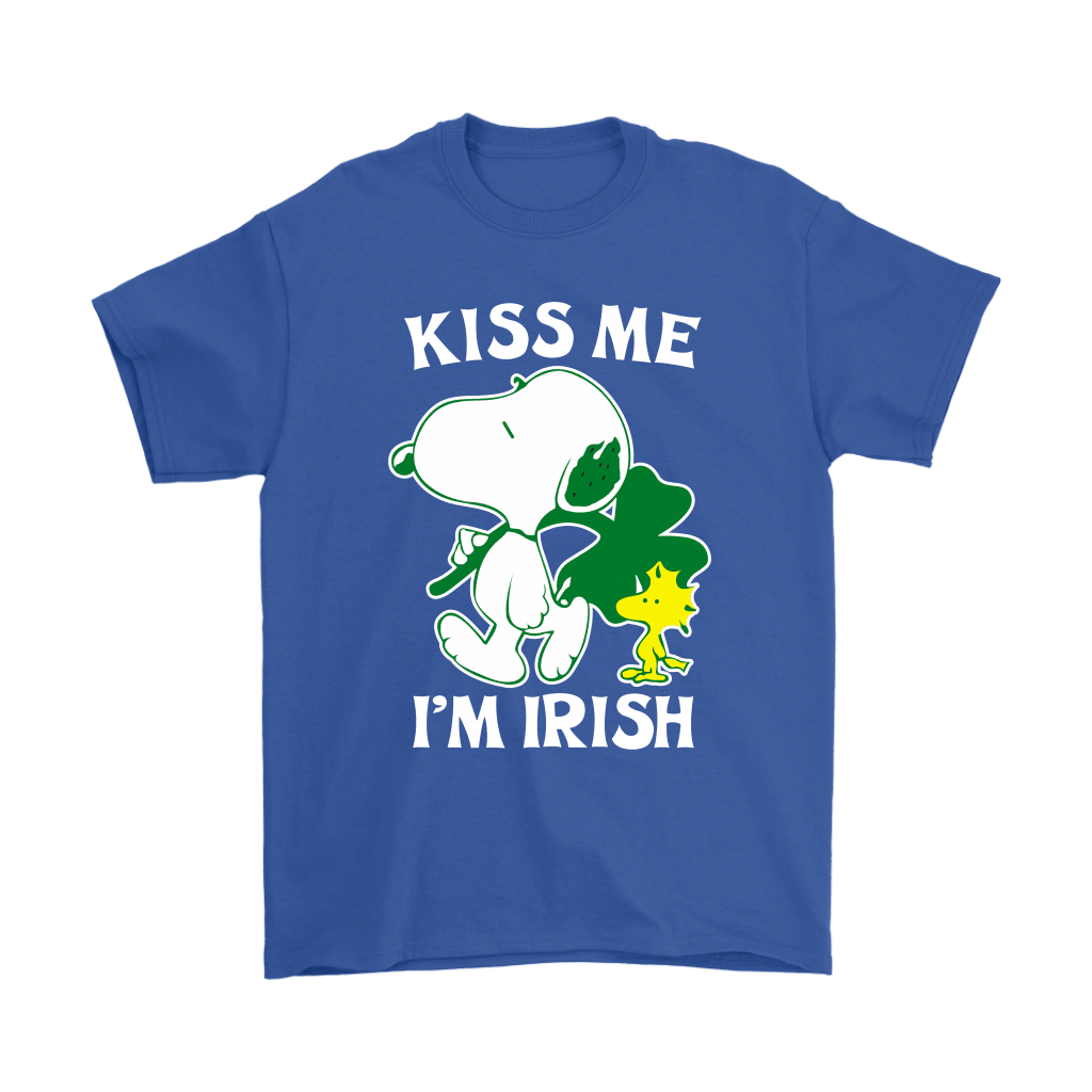 Snoopy And Woodstock Kiss Me I'm Irish St. Patrick's Day Shirts 5