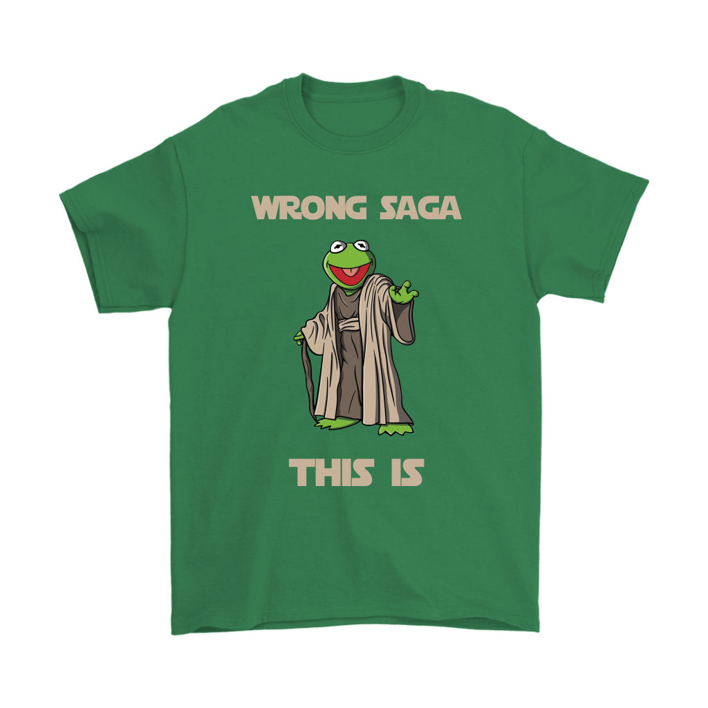 Star Wars Yoda Kermit The Frog Wrong Saga This Is Shirts 6