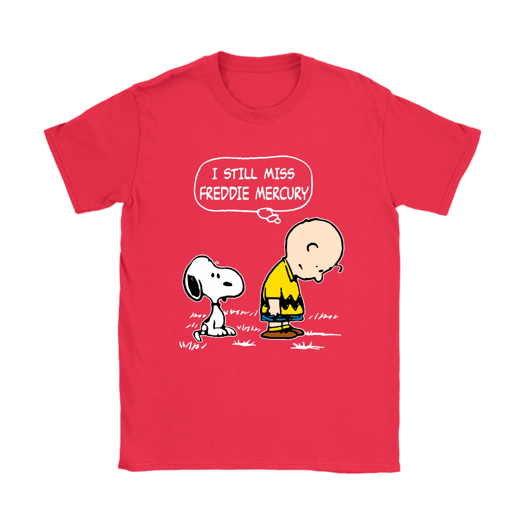 Charlie Brown And Snoopy I Still Miss Freddie Mercury Shirts 12