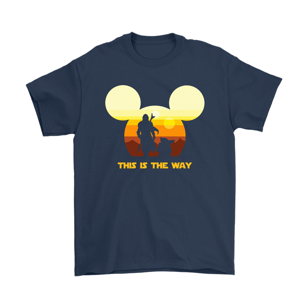 Disney Star Wars Baby Yoda The Mandalorian This Is The Way Shirts 3