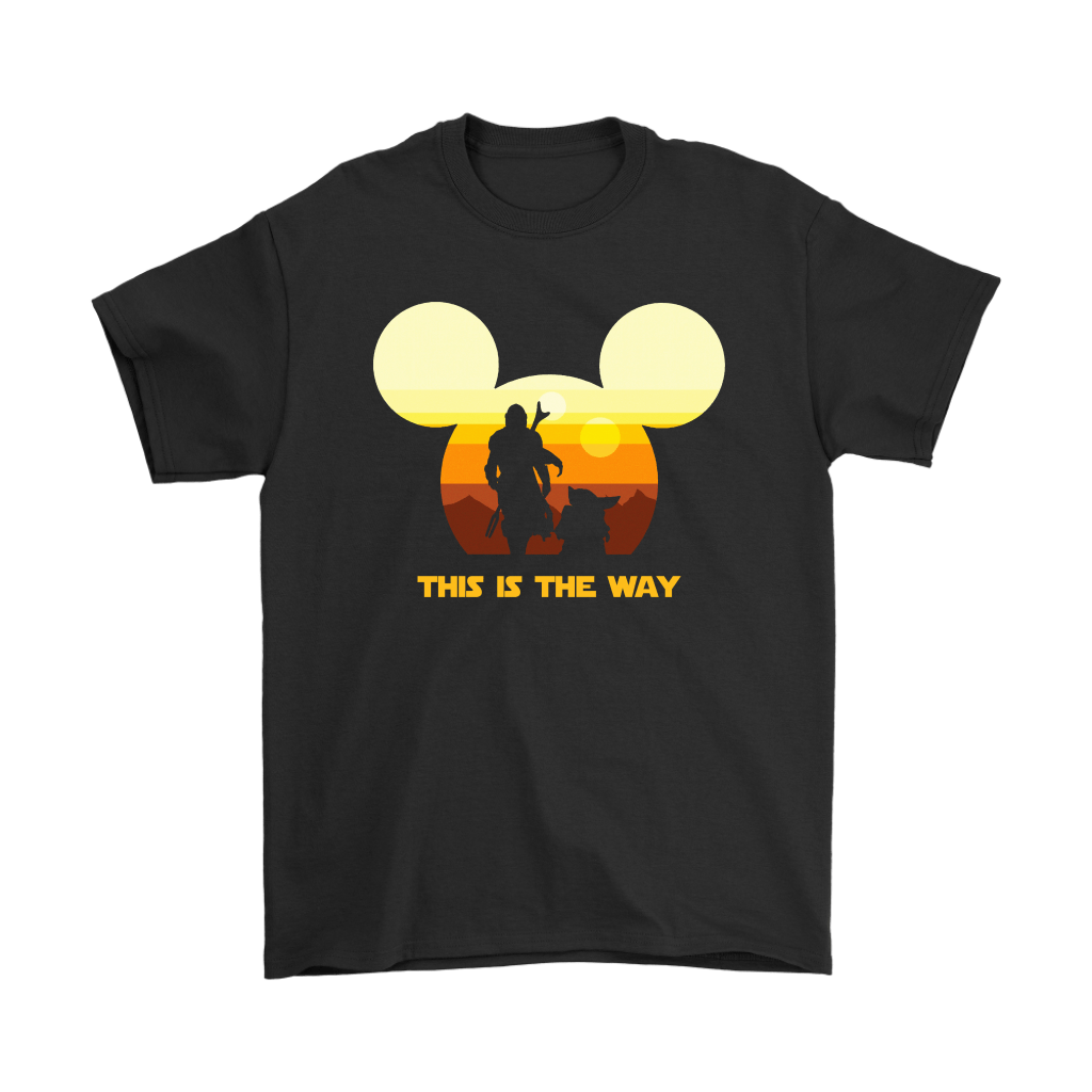 Disney Star Wars Baby Yoda The Mandalorian This Is The Way Shirts 1