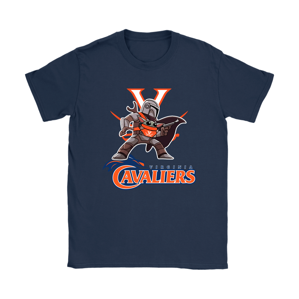 The Mandalorian & Baby Yoda Virginia Cavaliers NCAA Shirts 10