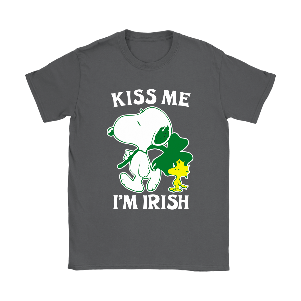 Snoopy And Woodstock Kiss Me I'm Irish St. Patrick's Day Shirts 9