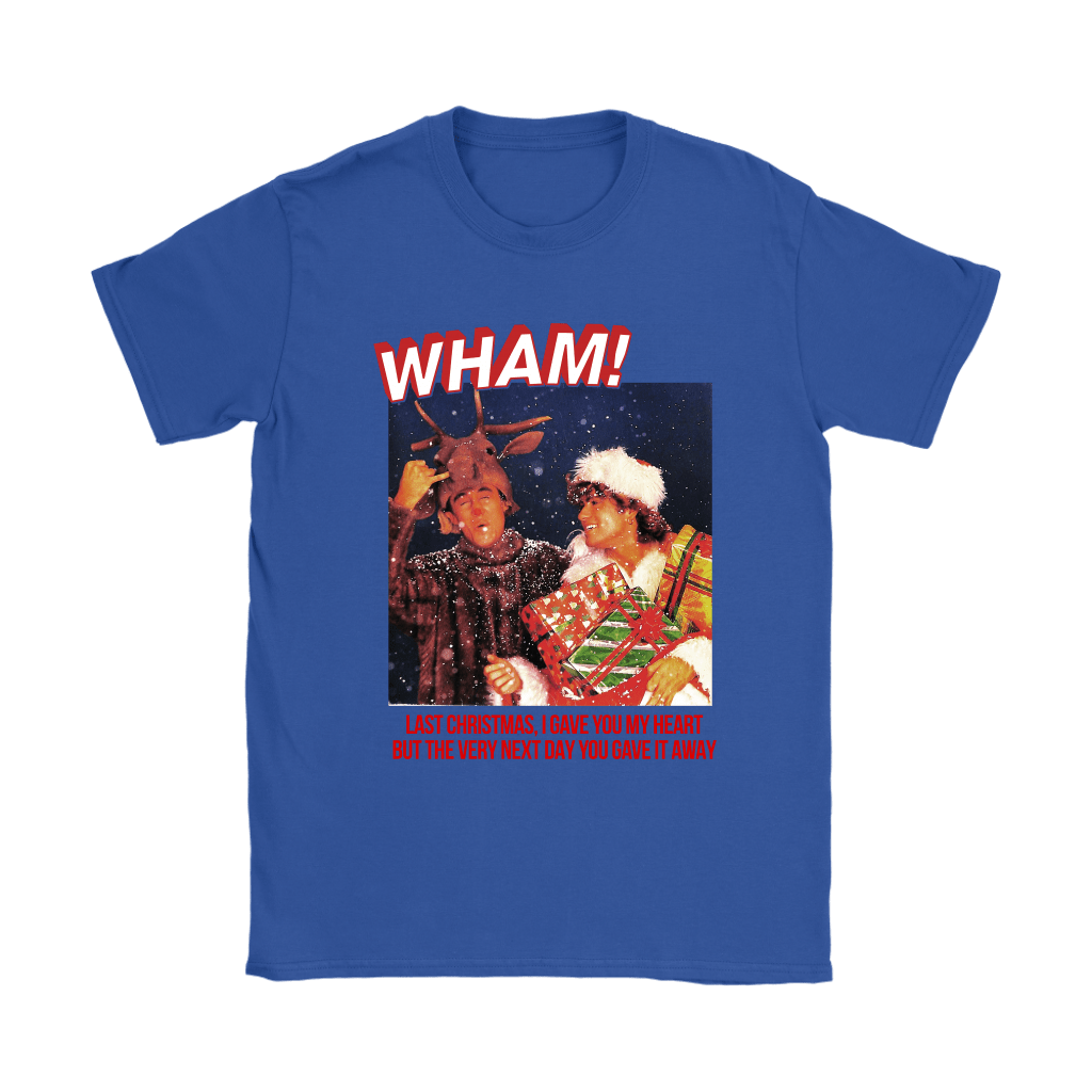 WHAM! Last Christmas I Gave You My Heart Merry Christmas Shirts 12