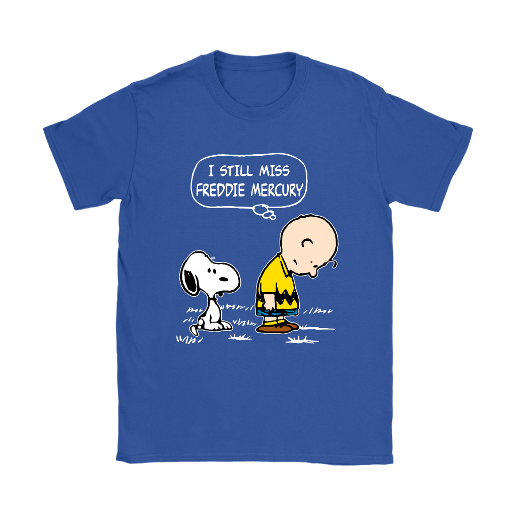 Charlie Brown And Snoopy I Still Miss Freddie Mercury Shirts 13