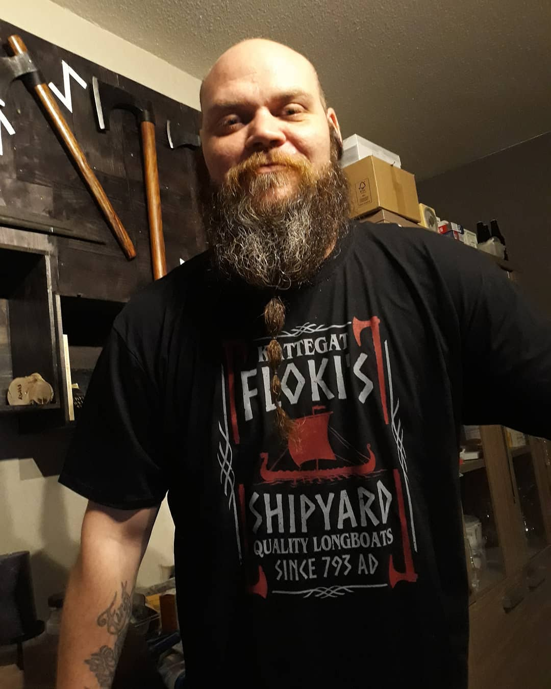 Kattegat Floki's Shipyard Quality Longboats 793 AD Vikings Shirts photo review