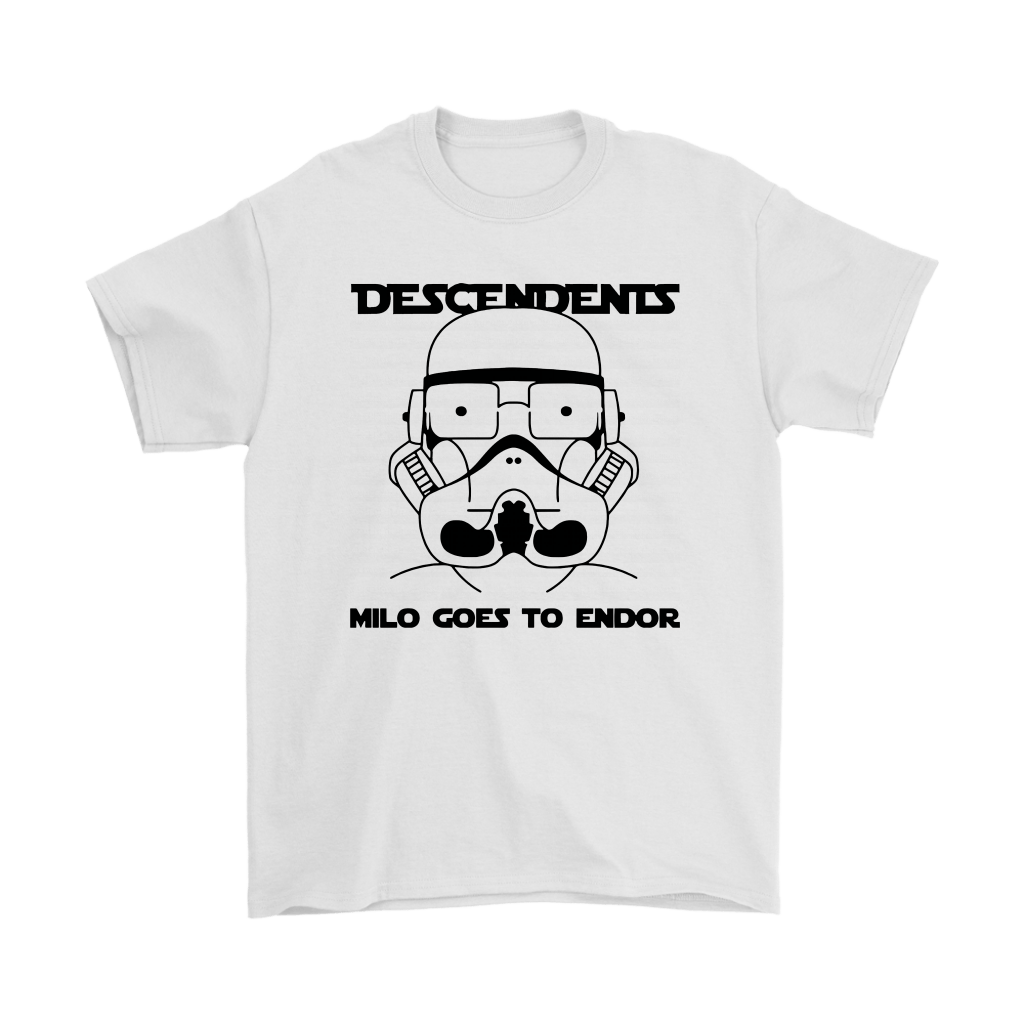 Descendents Milo Goes To Endor Milo Aukerman Star Wars Shirts 1