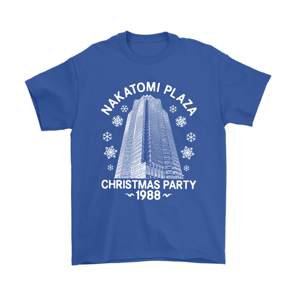 Nakatomi Plaza Christmas Party 1988 Die Hard Shirts 14