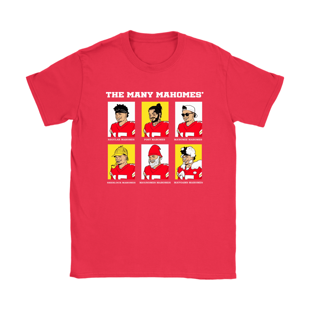 The Many Mahomes' Regular Patrick Mahomes Post Ma'Homie Shirts 12