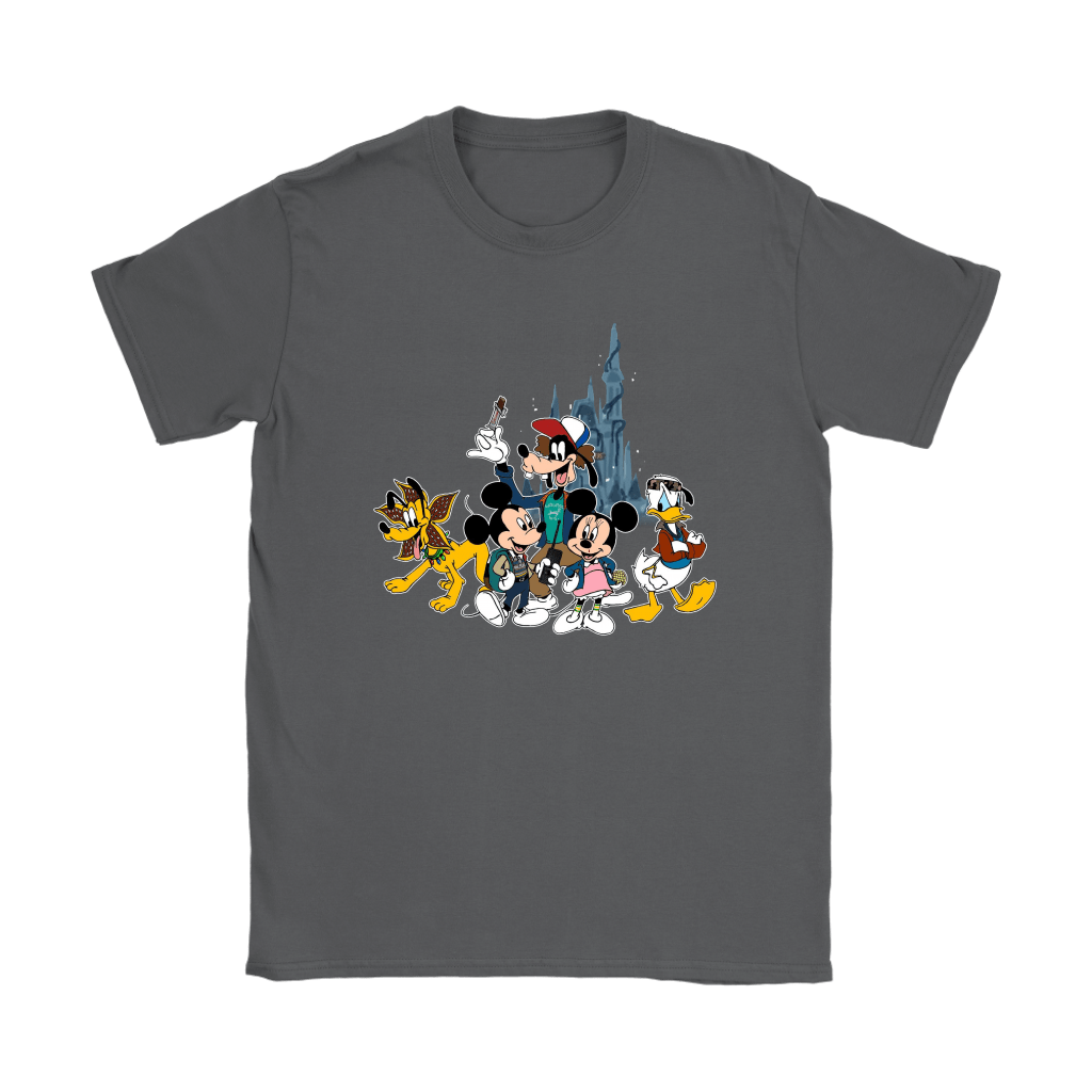 Mickey Mouse And Friends Disney Stranger Things Mashup Shirts 8