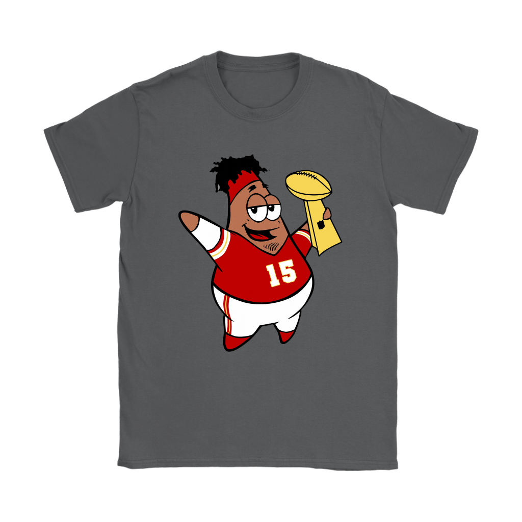 This Is Patrick Super Bowl Champions SpongeBob Mahomes Shirts 22