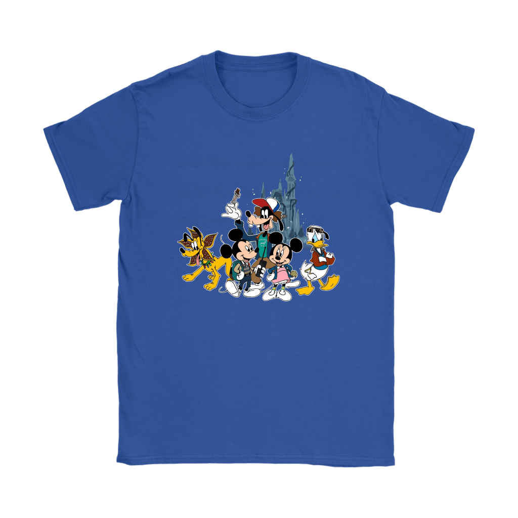 Mickey Mouse And Friends Disney Stranger Things Mashup Shirts 11