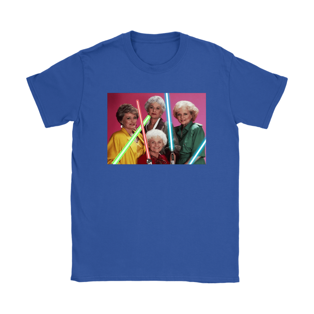 The Golden Girls Star Wars Mashup Shirts 12