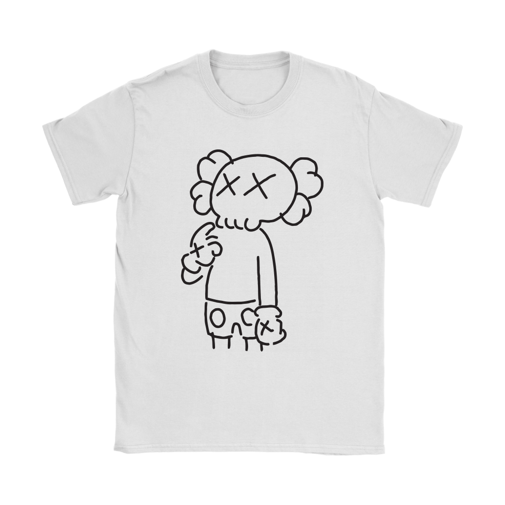 KAWS In Underware Wondering About It Shirts 7