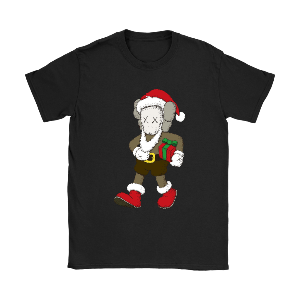Santa Claus KAWS Brings The Christmas Gift Shirts 8