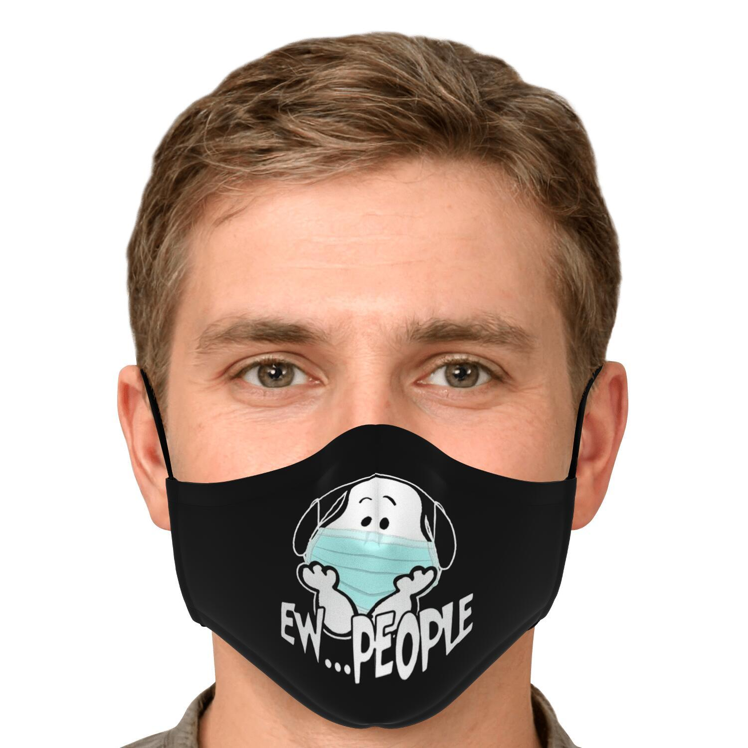 Ew People Snoopy Face Mask 4