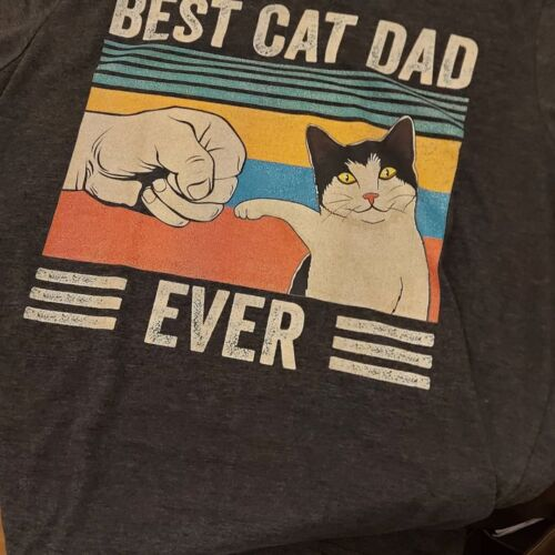 Best Cat Dad Ever Vintage Shirts photo review